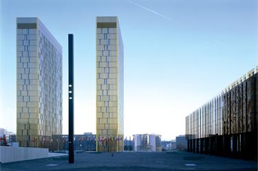 Az Európai Unió Bíróságának (EUB) épülete