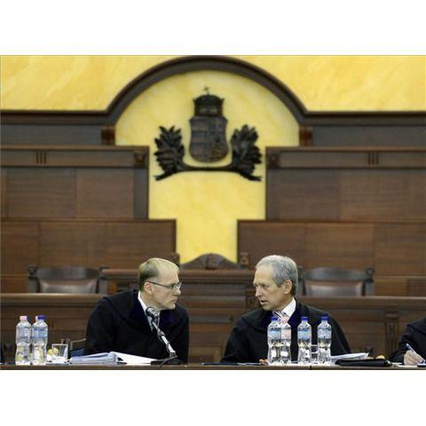 dr. Darák Péter, a Kúria elnöke és dr. Wellmann György, a Kúria PK vezetője