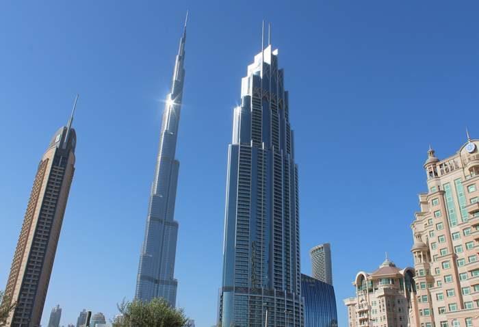 Dubaj - Burj Khalifa, a világ legmagasabb épülete