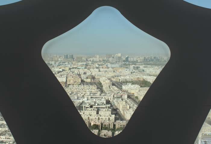 Dubaj - Az óváros panorámája