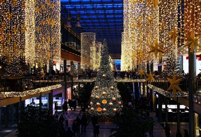 Karácsony, ünnep, díszkivilágítás