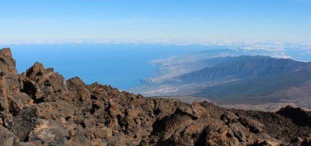 A Teide tetején