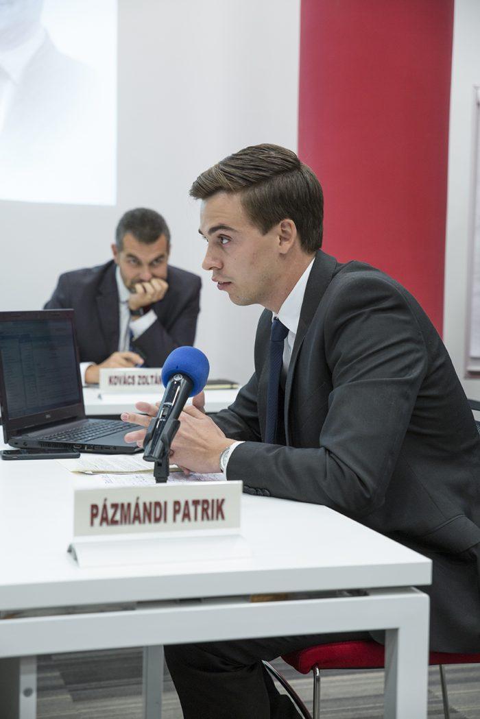Pázmándi Patrik (Dr. Nagy László Magánjogi Érvelési Verseny)