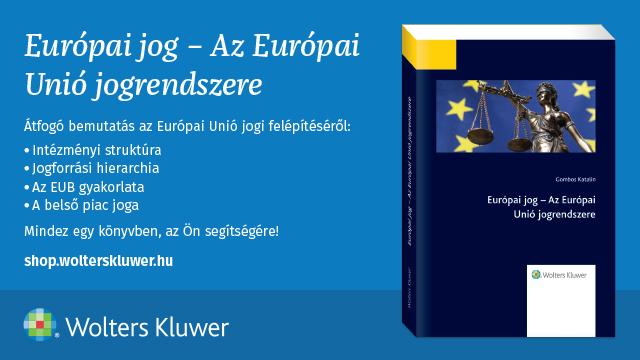 európai unió jogrendszere