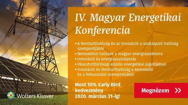 IV. Magyar Energetikai Konferncia