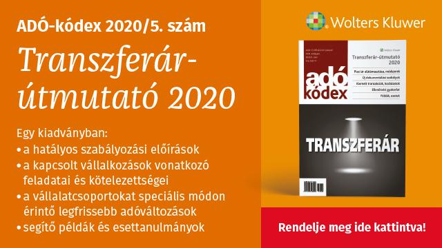 Transzferár útmutató 2020