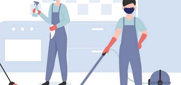 Takaréklángon takarítani