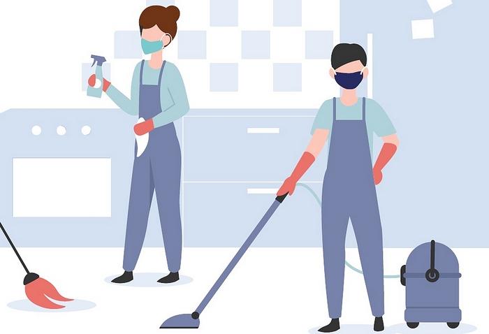 Koronavírus, nyaralás, takarítás