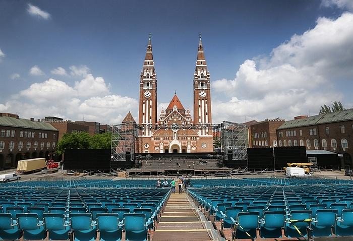 Szabadtéri színházak - Szeged