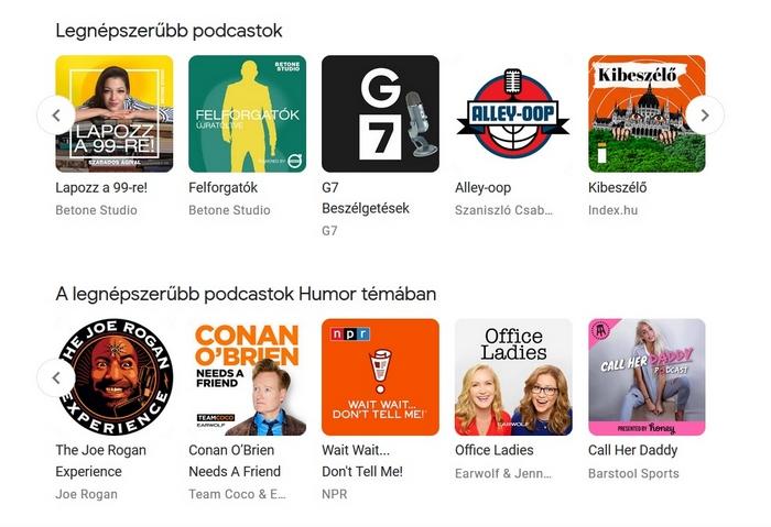 Podcast - a legnépszerűbb alkalmazások