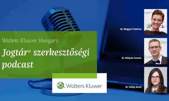 Podcast - WK Jogtár