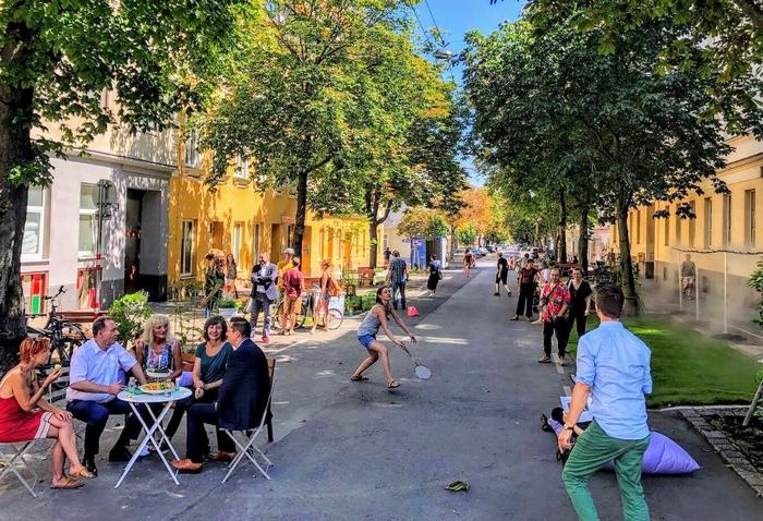 Bécs – klimatizált utca