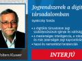 Interjú Dr. Gyekiczky Tamással, a Jogrendszerek a Digitális Társadalomban című könyv szerzőjével
