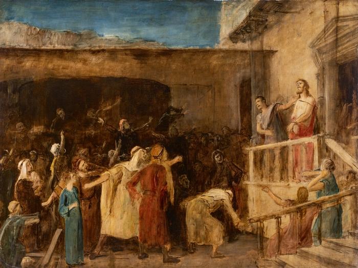Munkácsy Mihály Ecce Homo c. festménye