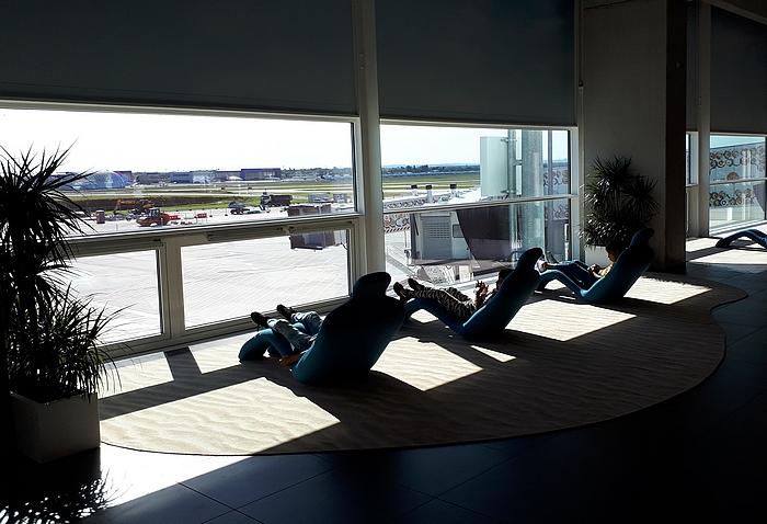 Légi közlekedés 2021 – pihenő