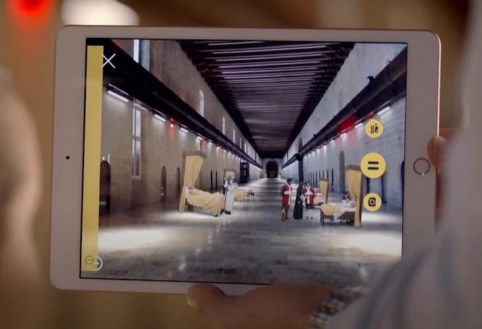 Sacra Infermeria (Málta) termei virtuális látogatással