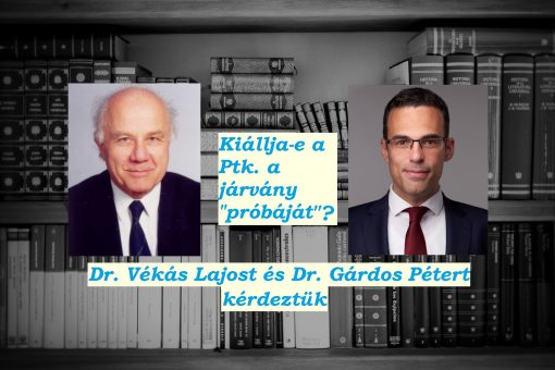 Vékás Lajos Gárdos Péter interjú