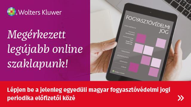 Fogyasztóvédelmi Jog Online