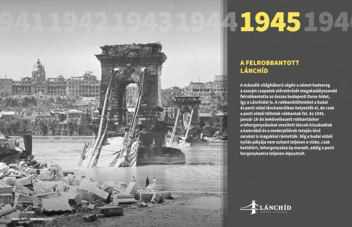Az örökké élő Lánchíd c. online tárlat