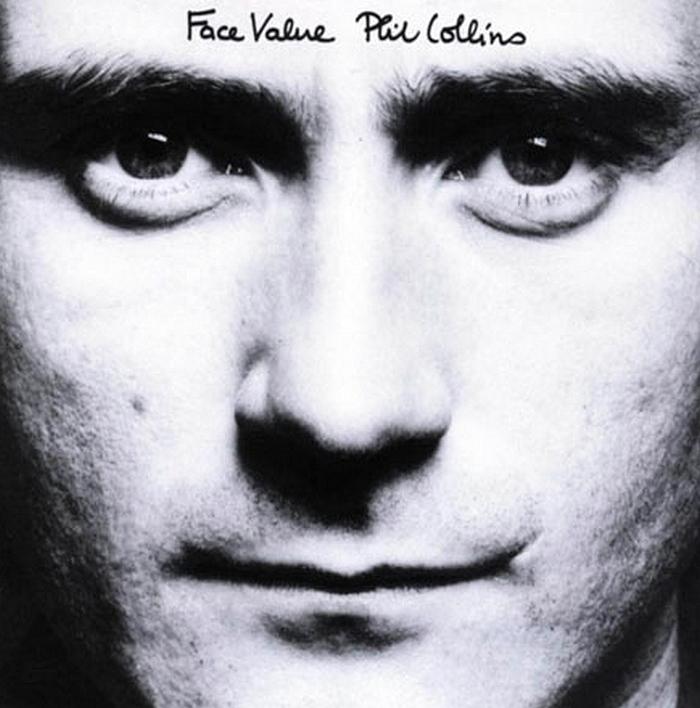 Phil Collins Face Value c. első szólólemeze, 1981