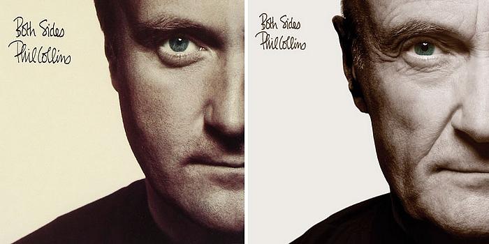 Phil Collins: Both Sides c. albuma, újrafotózott lemezborító, 2016