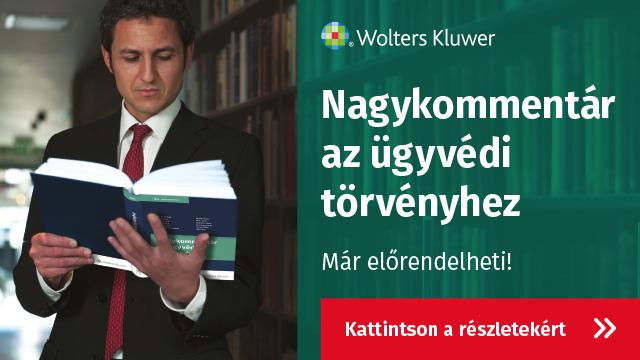 Nagykommentár az ügyvédi törvényhez