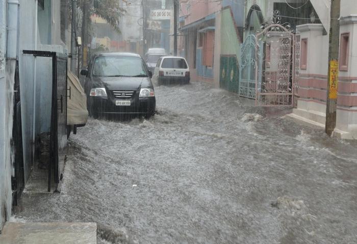 Klímaváltozás – áradás, özönvíz, esőzés