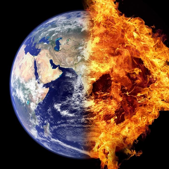 Klímaváltozás – tűzveszélyes területek