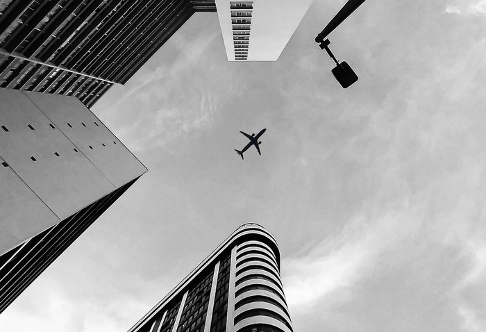 Üzleti utazások – repülő