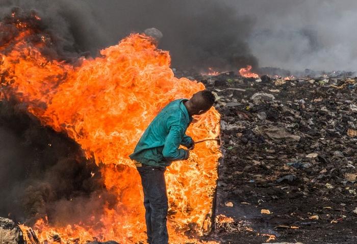 Mozi 2021 – Ghána – Környezetszennyezés